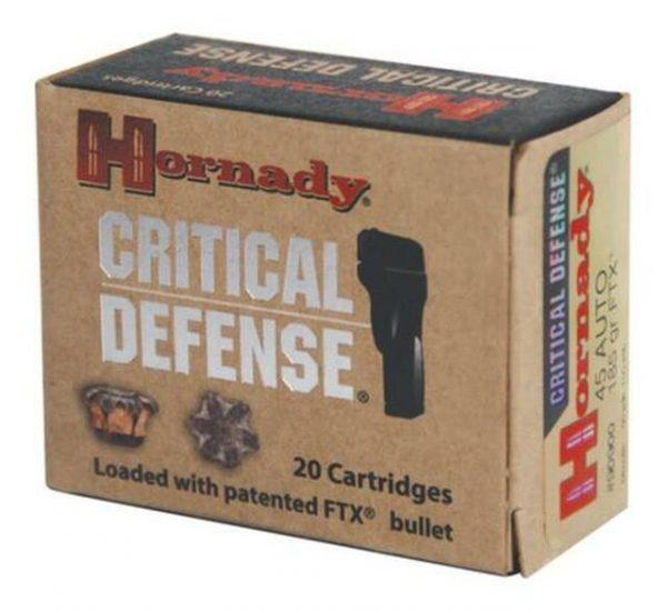 buy Hornady Critical Defense 45