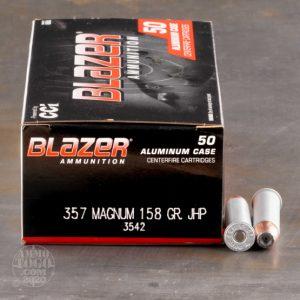 CCI Blazer .357 Remington Mag 158 Gr