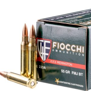 fmj 223 ammo by fiocchi for sale